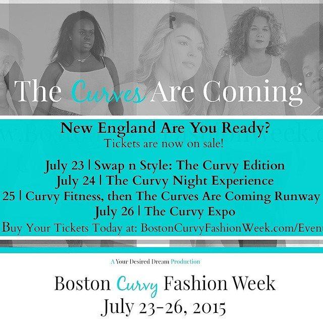 BOSTON CURVY FASHION WEEK