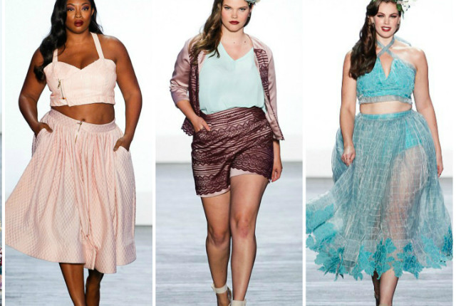 Plus Size Models at NYFW for Project Runway