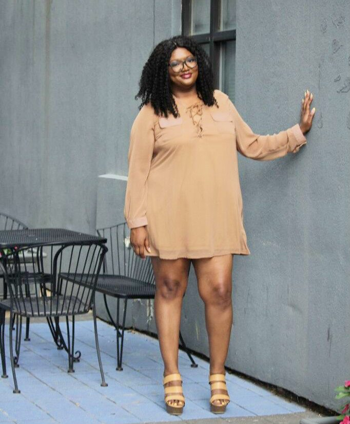70s plus size dress