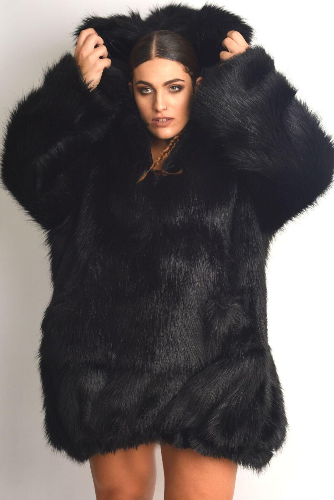 Khali - Luxury Faux Fur Anorak