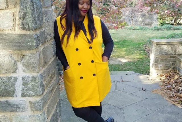 Simply Be Sleeveless Jacket