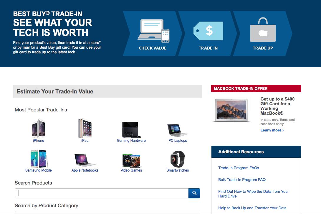best buy trade-in