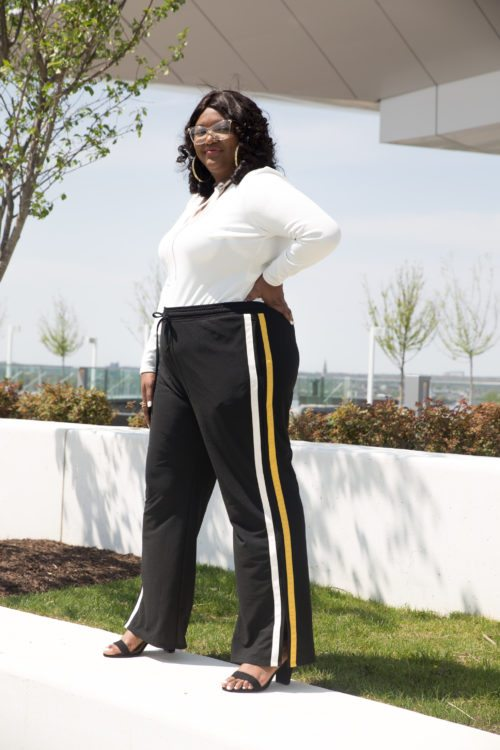Women's Plus Size Track Pant - Who What Wear